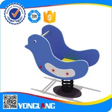 China Supplier outdoor playground rocking spring horse