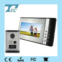 Multi apartments cheap video intercom systems,Video door phone with door unlocking