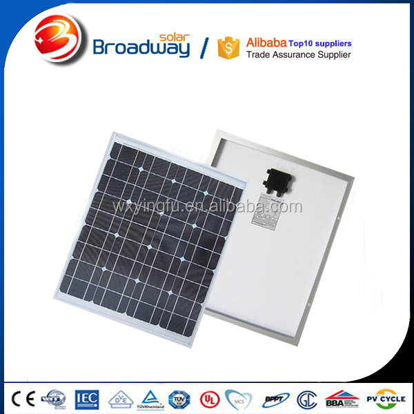 Solar photovoltaic cells 12v 100w solar panel for portable solar system