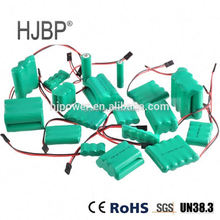High quality electronic toy power tool ni-mh 7.2v sc 1800mah battery pack