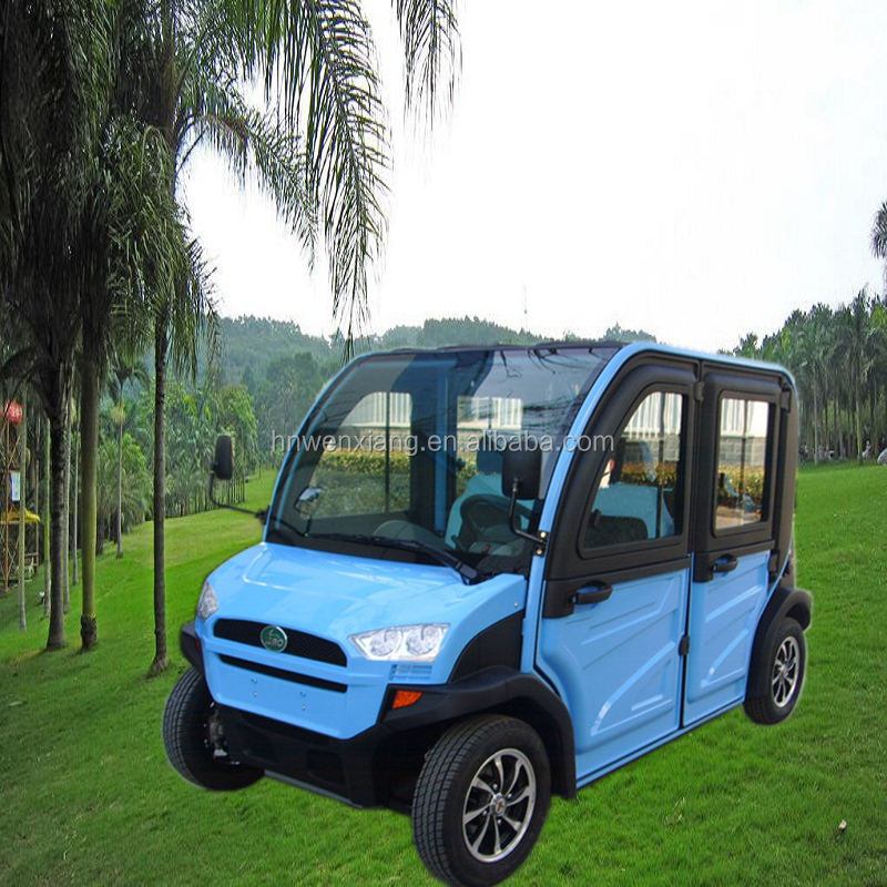 4 wheel hot selling electric club car passenger utility vehicle
