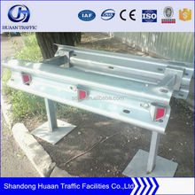 High quality heavy zinc steel highway guardrail used spacer block road guard rails for sale