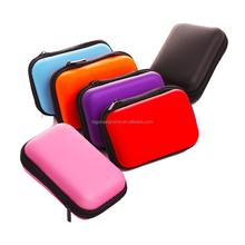 Cheap High Quality Square Earphone Case Pocket Money Case