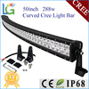 Car LED Tuning Light Manufacturer Low Voltage Outdoor LED Car Light , 288W LED Light Bar