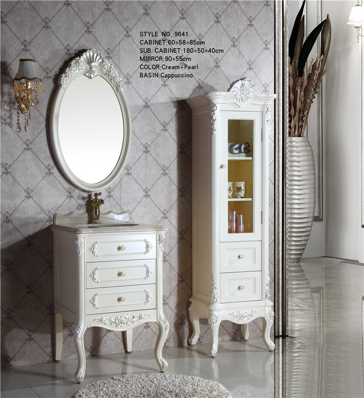 odm solid wood bathroom mirror cabinet with light buy