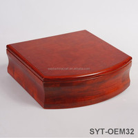Luxury custom wood tea, jewel, wine gift box, wooden box supplier