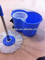 360 spinning mop 2 in 1 new material 360 rotating spin magic mop wiht bucket