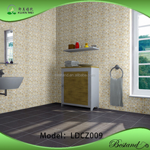 Thicken Self-adhesive Wallpaper Unique Fashionable Design PVC vinyl Wallpapr for Hotel/Bathroom/ Kitchen