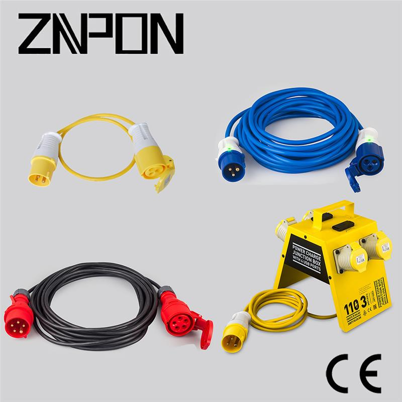 3 wire 220V power cable distributor