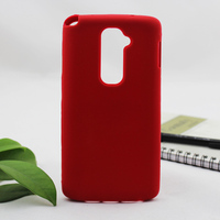 New arrival soft silicone back cover case for lg g2 d802