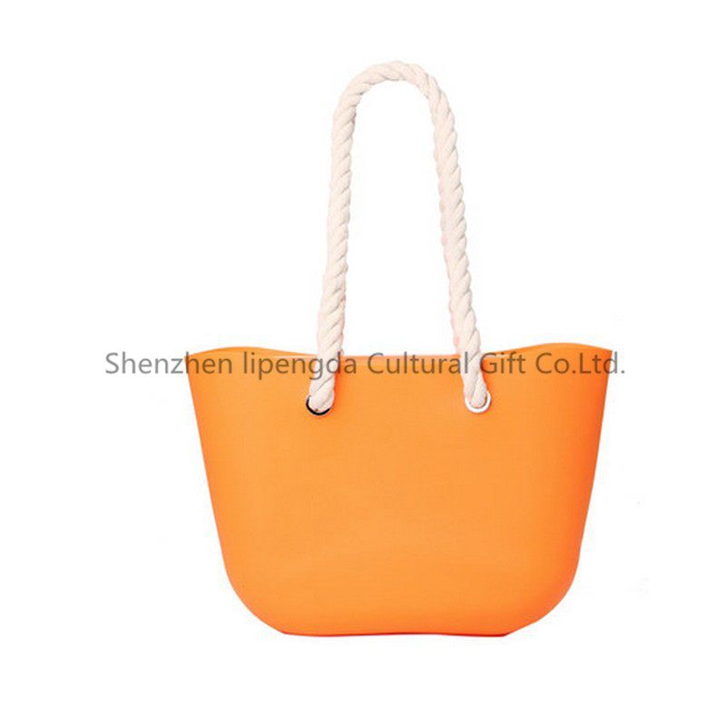 Durable free sample o bag silicone bag silicone tote bag for wholesale
