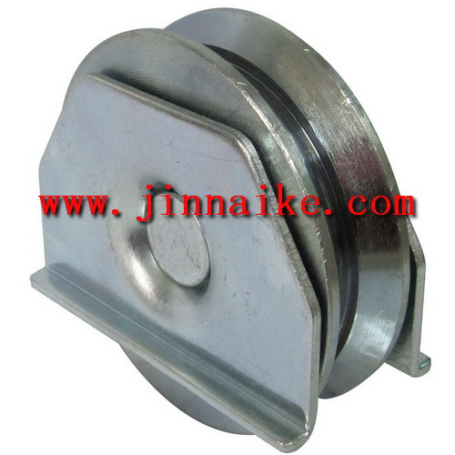 sliding gate wheel with bearing , pulley for gate