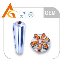 Food grade aluminium foil in large roll