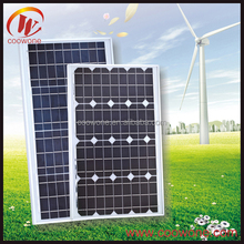 Low price and MOQ poly 5w to 250 watt photovoltaic solar panel