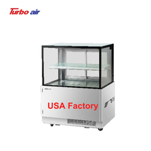 1 <strong>shelves</strong> 2 layer sliding door R-404a bakery counter top refrigerated cake showcase display fridge display rectangle bakery case