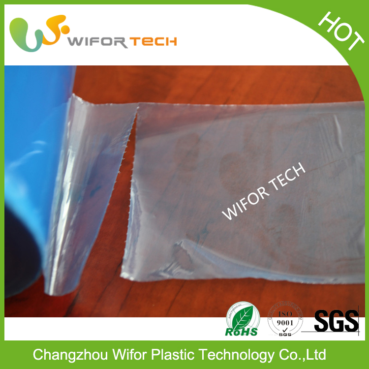 Customized Transparent Glass Protective Pe Plastic Film