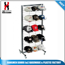 sports cap display rack / wire baseball cap display stand / hat display holder