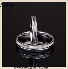 jewelry making supplies Top Selling Good quality 925 sterling silver matching rings for couples with nice pattern