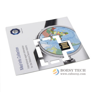Promotional gifts business card usb webkey brochure auto run website