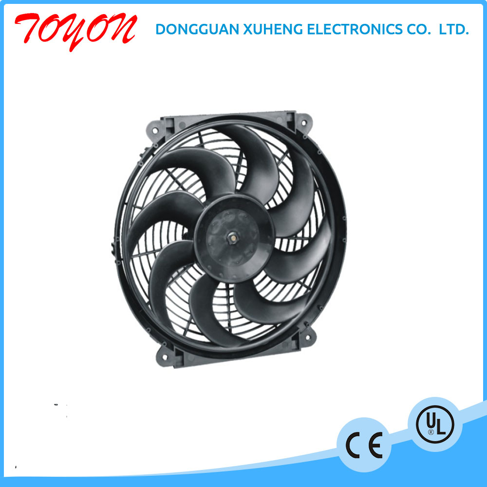 toyon 12v 24v dc air conditioning and air cooled car condenser fans