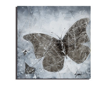 Animal Butterflies Hand-painted Abstract Canvas Oil Paintings