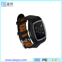 Different color options ip68 waterproof smart watch gsm q&q smart watch