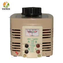Manufacturer TDGC2-15 Single Phase Auto Voltage Regulator , Variac Suppliers 60A Output Regulator