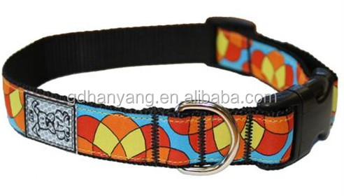 2014 Hot Pet Products Custom Printed Dog Collar