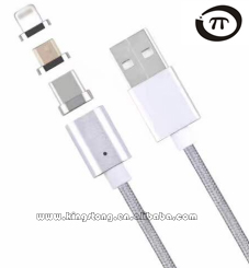 High Quality 3 In 1 3.1 Type C Female Usb To Mini Micro Magnetic Usb Data charger