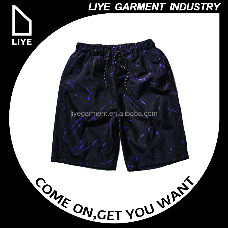 China Liye professional manufacturer high quality customized oem service printing short pants