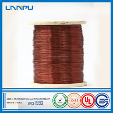 Class 180 Solderable Enameled Wire Round Color 1.4 mm Enamelled Copper Wire