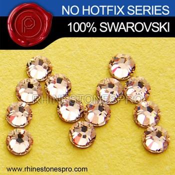 Original Swarovski Elements Silk (391) 9ss Flat Back Crystal No Hot Fix Rhinestone