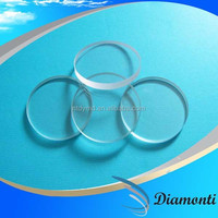 High qualtiy- transparent glass with polished edge as cover