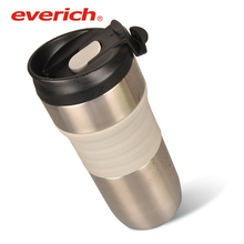 Everich Wholesale Double Walled Stainless Steel French Press Pot for Tea Coffee Juicer