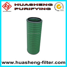 High efficient air filter for gas turbine