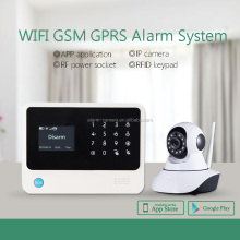Security camera with sim card intelligent app control wireless calling system WIFI GSM alarm smart home