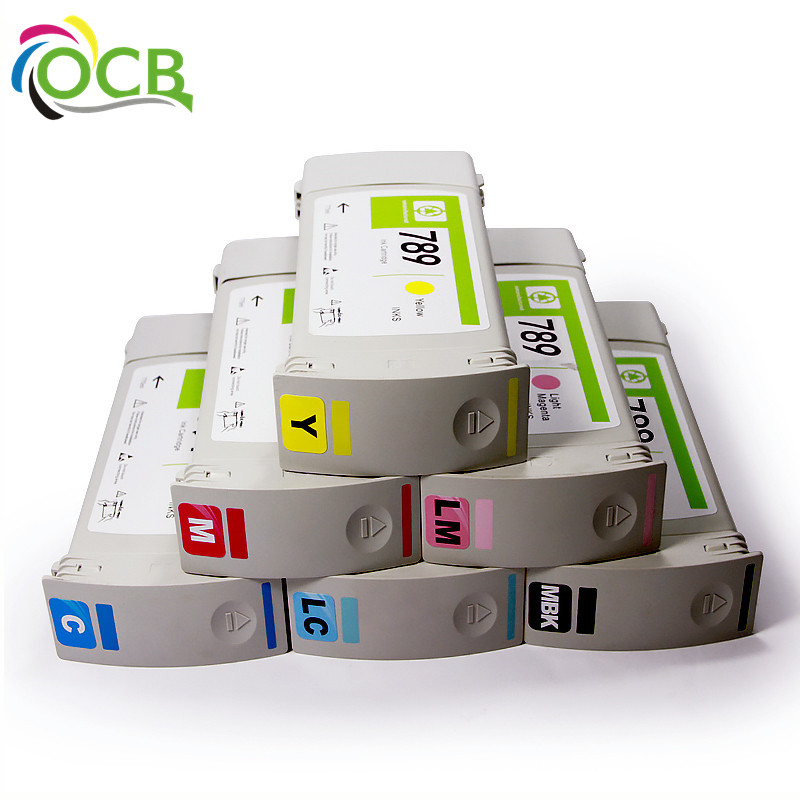 789 Remanufactured Recycle Compatible Ink Cartridges For HP Latex L25500 Inkjet Printers
