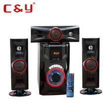 Guangzhou speaker manufacturer 3.1 CY audio multimedia speaker subwoofer bluetooth home theater system
