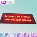 CE RoHS double sides P10mm 112X288pixel red outdoor RF wireless programmable two sides led display