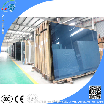 Decorative tinted tempered glass fence panels for door for Decorative tempered glass panels