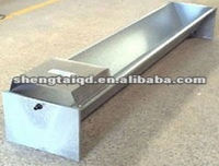 Galvanized livestock anmial cattle water trough