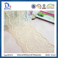 wholesale champagne gold french net beaded lace trimming fabrics
