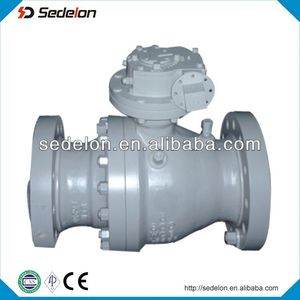 2 Piece Bare Stem Cast Steel Ball Valve Class 600