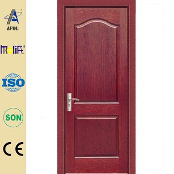 Zhejiang afol natural veneer wooden door plywood doors - Modelo de puertas de madera ...