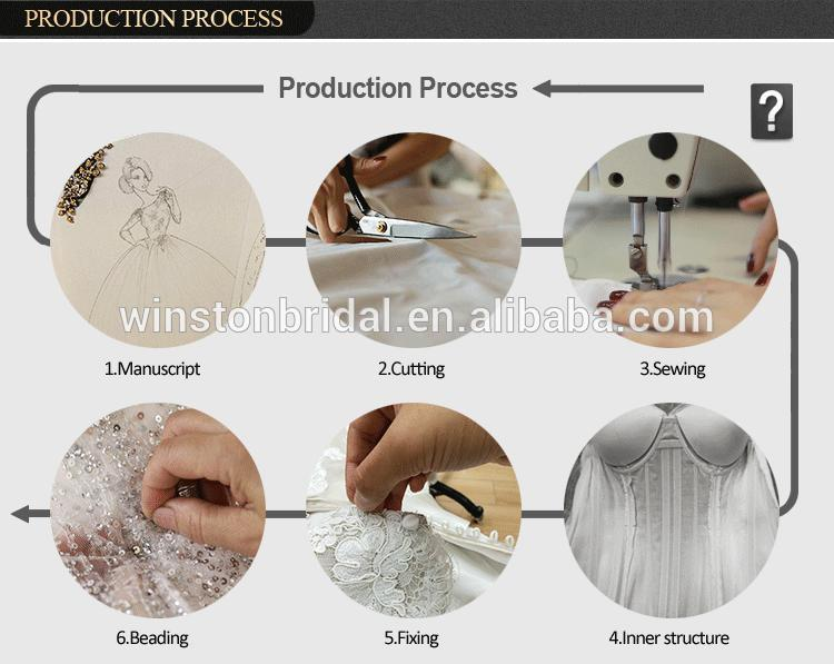 Alibaba Guangzhou Dresses Factory wedding dresses detachable train