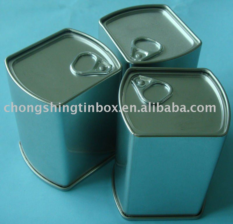 Tin aluminum can for pills