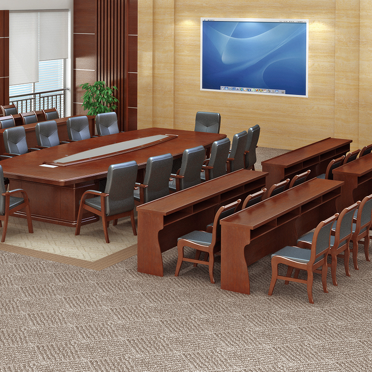Laminate scratch-resistant desk surface modern office conference tables