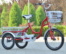 colorful popular adult tricycle 2016year