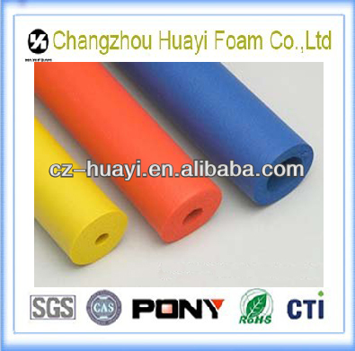 eco-friendly OEM color foam pipe insulation