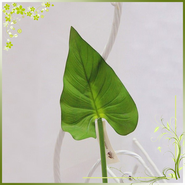 Artificial alocasia aroid macrorrhiza leaves indoor home decor for sale